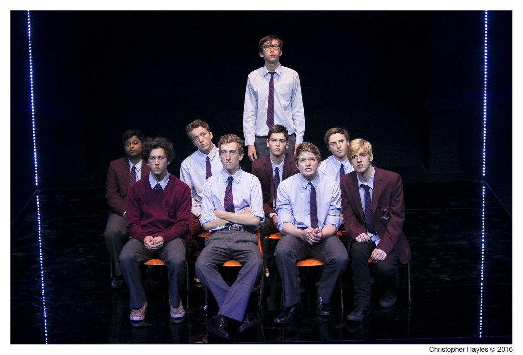 Newington College cast of Michael Swordfish